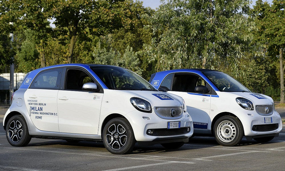 Photo of Car2Go Car Sharing Dati Segno +