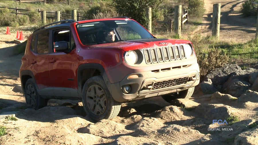 Photo of Jeep Renegade off-road test drive