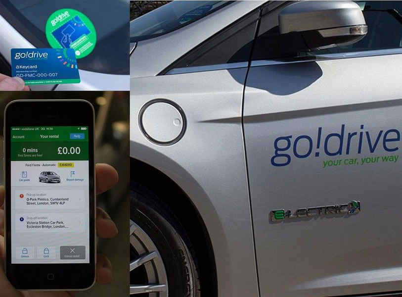 "Photo of Ford GoDrive il car-sharing ""green"""