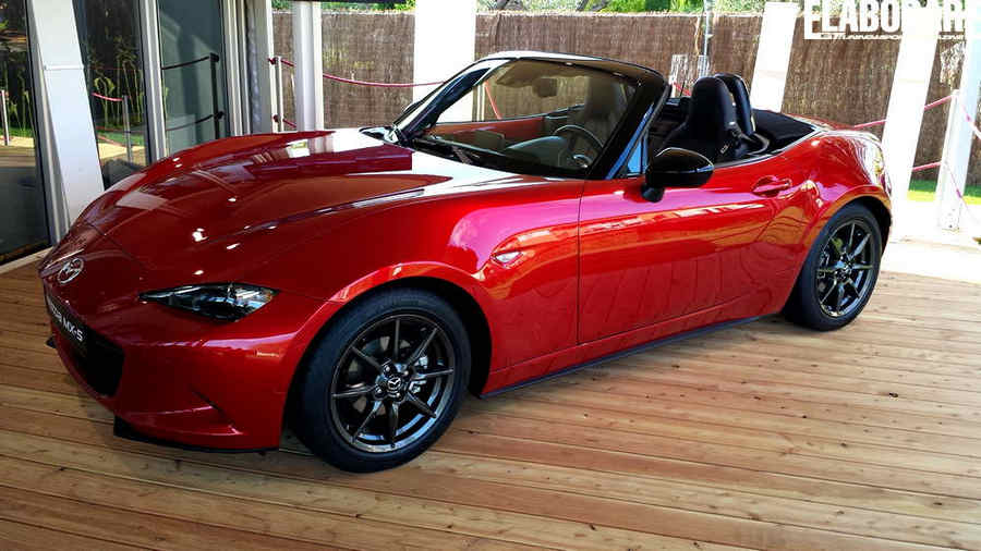 Photo of Nuova MAZDA MX-5 nuova linea