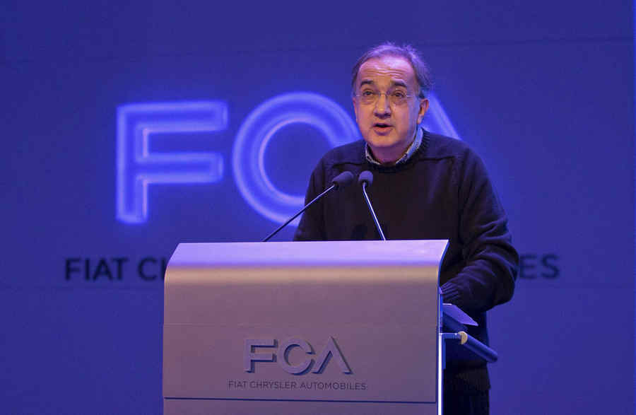 Sergio Marchionne AD FCA