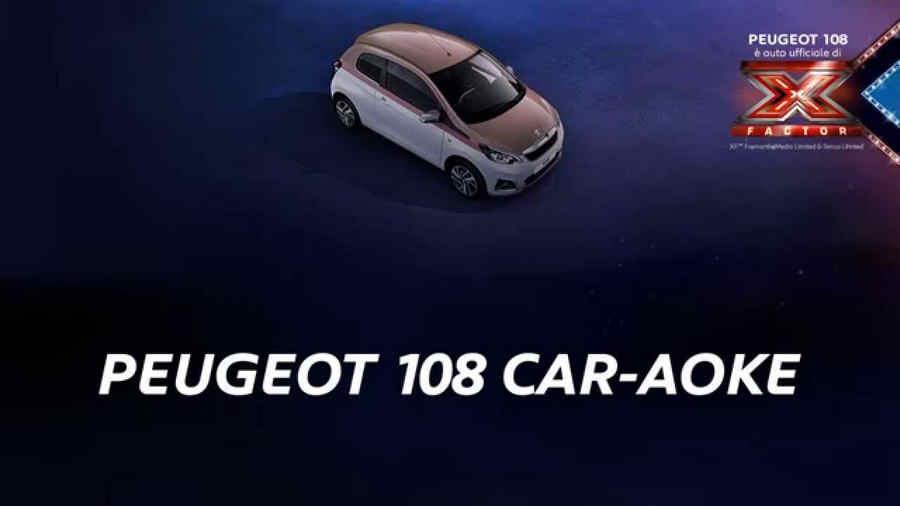 Photo of PEUGEOT 108 CAR-AOKE