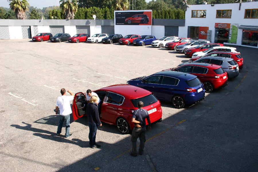 Photo of PEUGEOT 308 GTi by PEUGEOT SPORT TEST DRIVE PRESS LAUNCH
