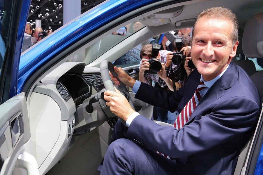 Herbert Diess, CEO del Gruppo Volkswagen