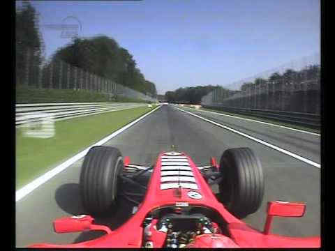 Photo of Monza Circuit on board Ferrari Schumacher