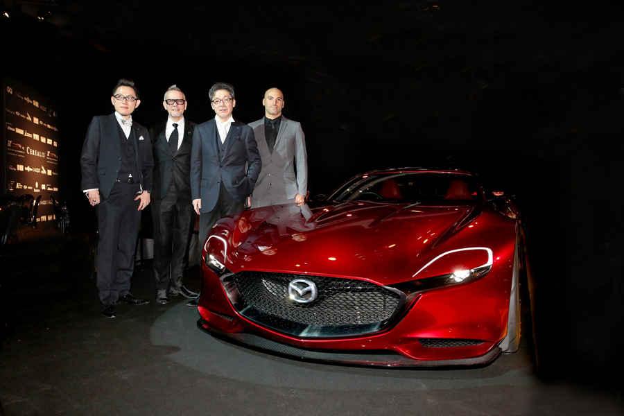 Mazda RX-Concept premio most beautiful concept 2015