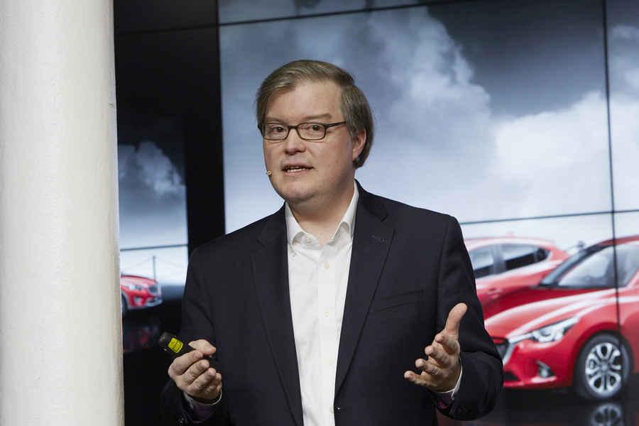 Jeff Guyton Presidente e CEO Mazda in Nord America