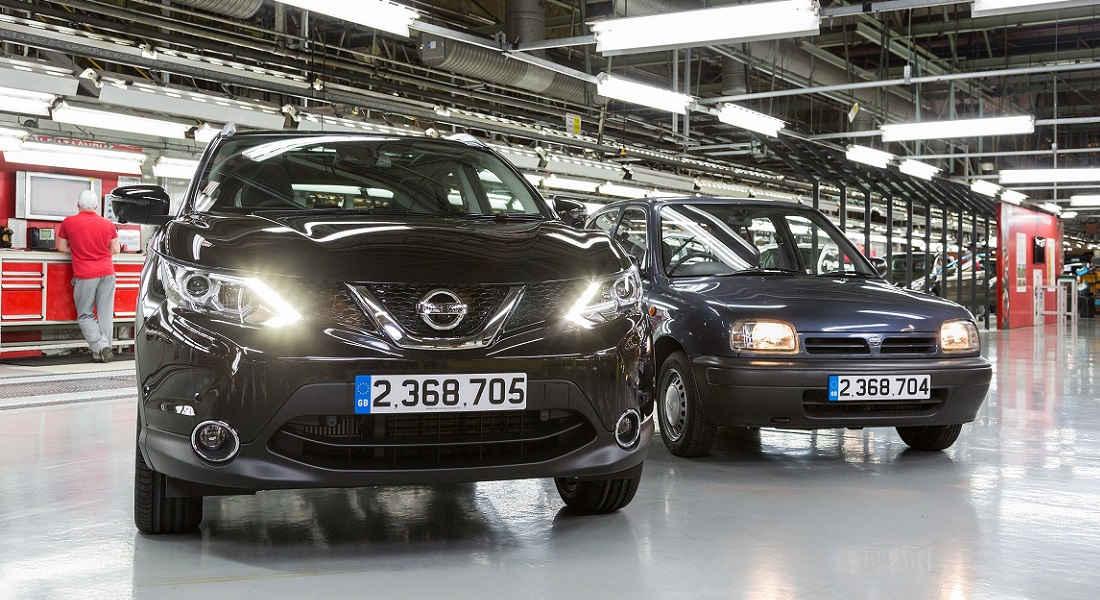 Photo of Qashqai Record di Produzione Nissan