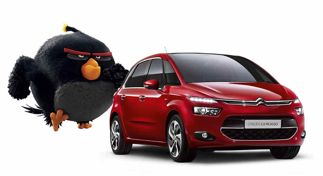 Photo of Angry Birds In Citroën