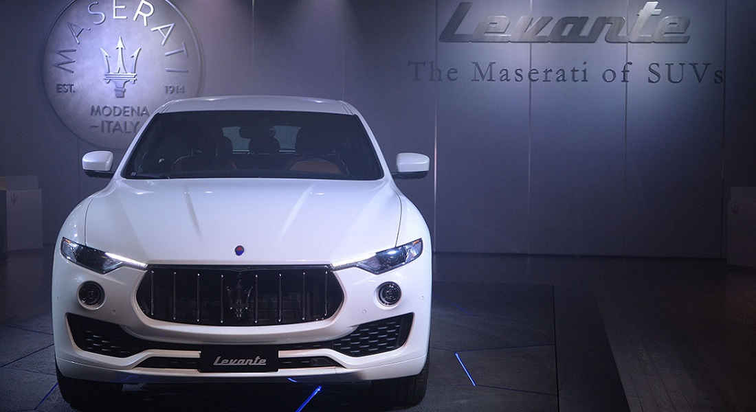 Photo of Maserati Levante Festa Roma