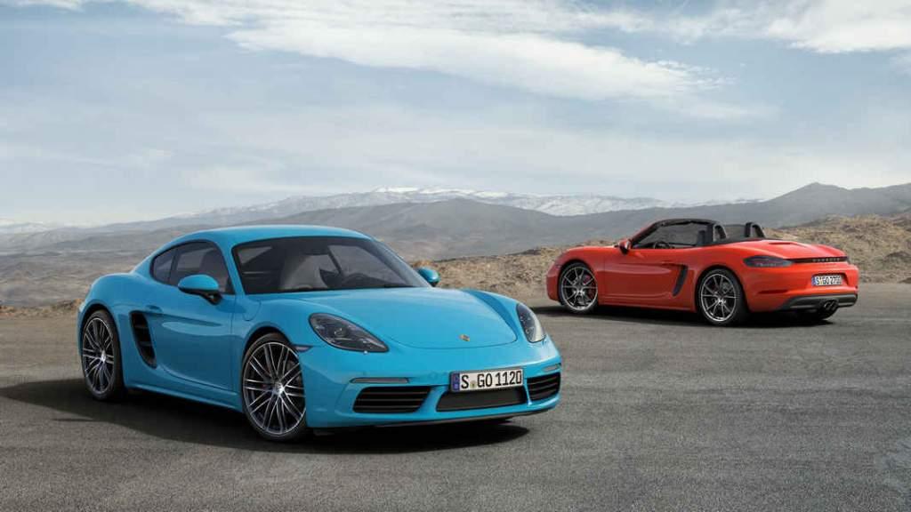 Porsche Cayman elettrica
