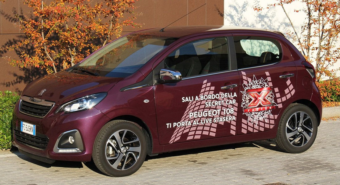 Photo of Peugeot 108 X Factor 2016
