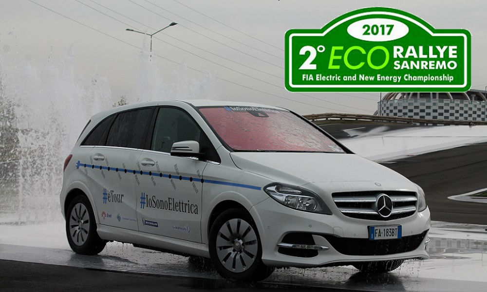 Photo of La B Elettrica di Mercedes-Benz All'Eco Rallye Sanremo