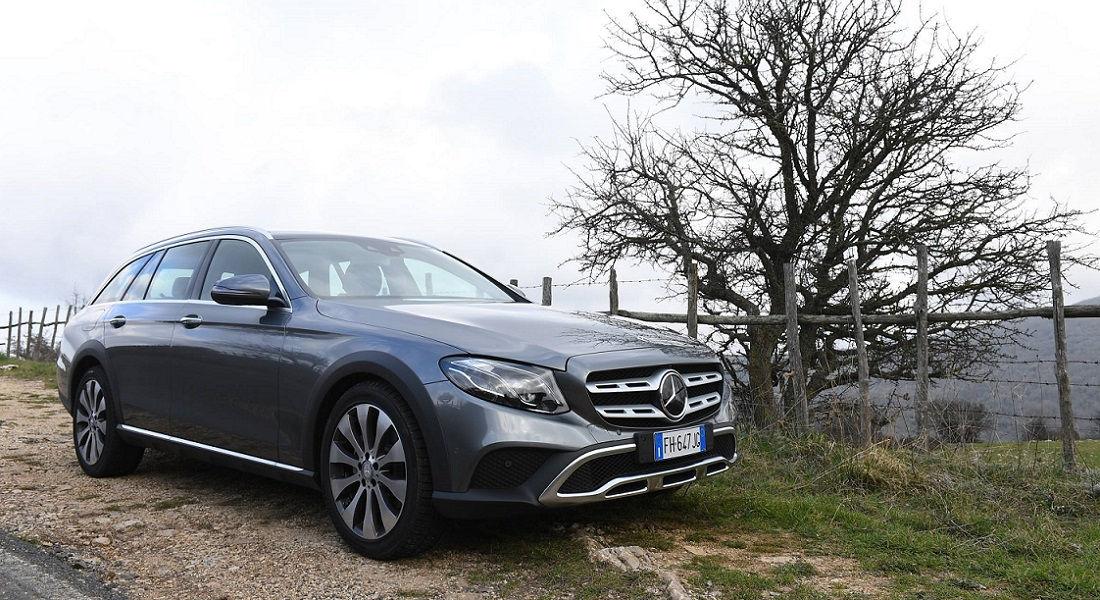 Photo of Mercedes Classe E, la prova dell'All-Terrain 4×4