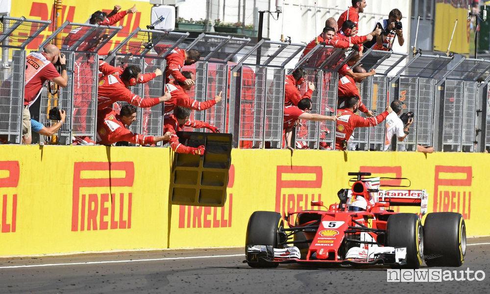 F1 2017 Gp Ungheria Ferrari