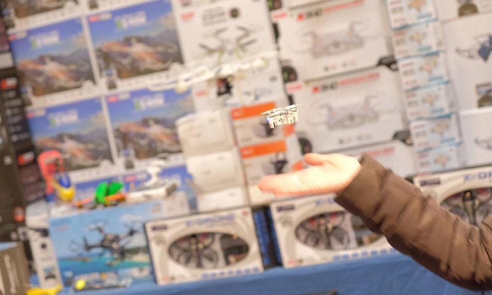 Photo of Model Expo Italy Gare di Mini-Droni