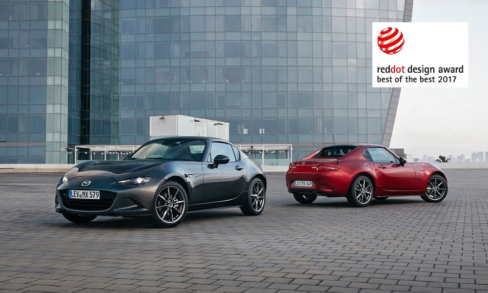 Photo of Mazda Mx-5 Rf Premiata Red Dot Awards 2017