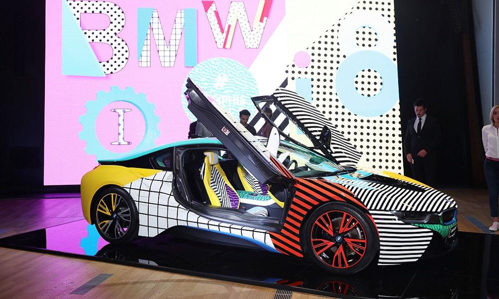 Photo of Bmw I Memphis Design By Garage Italia