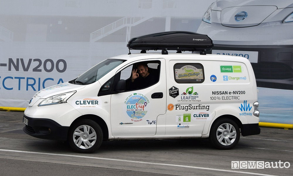 Photo of Nissan E-Nv200 Electrip Tour Elettrico