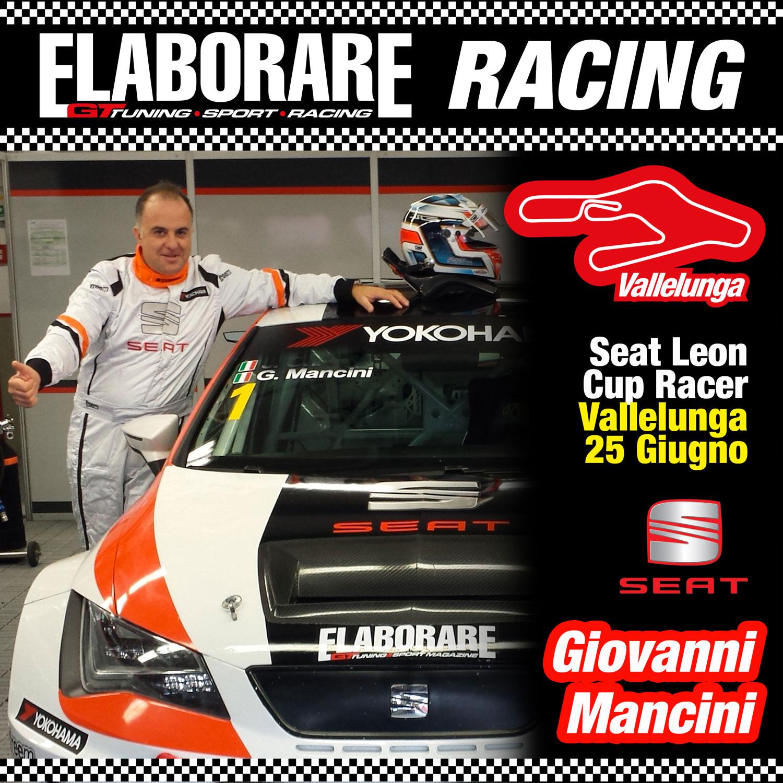 GiovannI Mancini Seat Leon Cup pilota