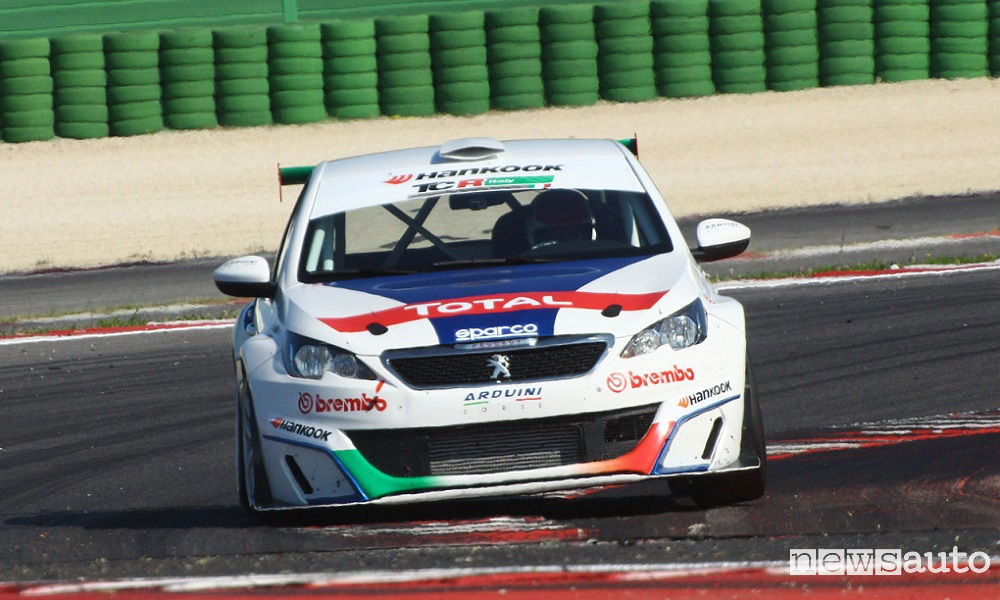 Photo of Vittoria Peugeot 308 A Misano Tcr Italy Tct