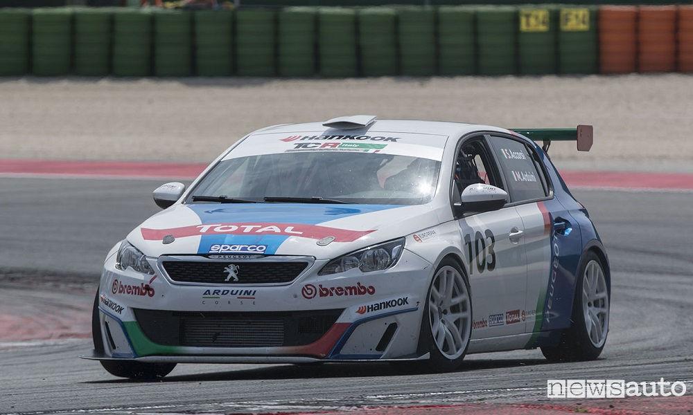 CIT-2017-Misano-Gara-2-Peugeot-308-Racing-Cup-Arduini