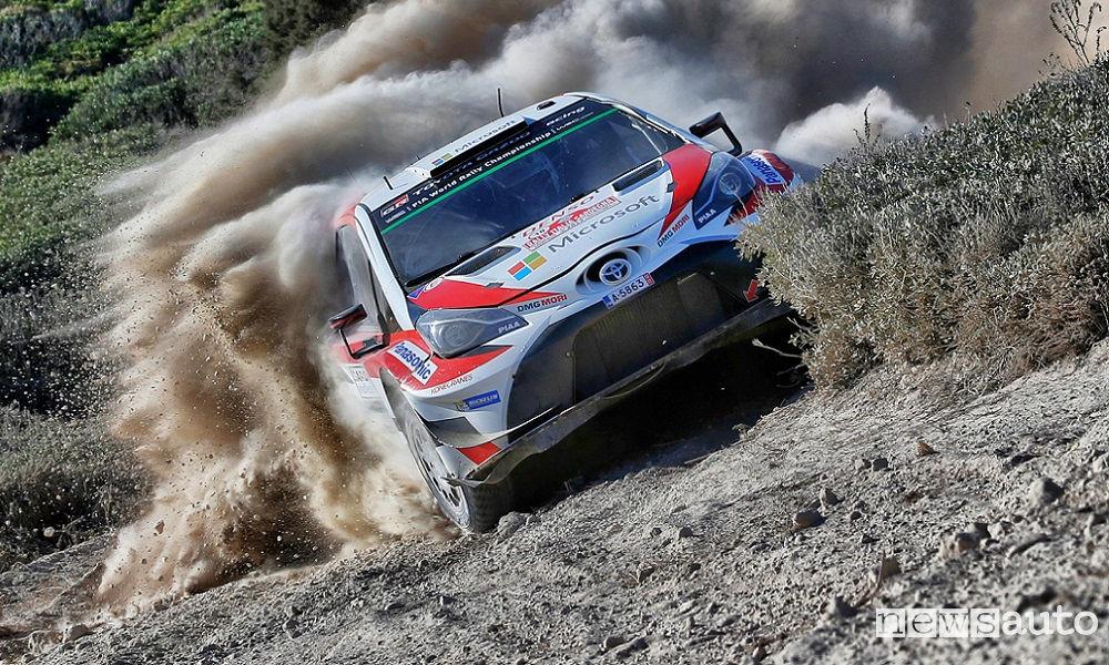 FIA WORLD RALLY CHAMPIONSHIP ITALY SARDEGNA