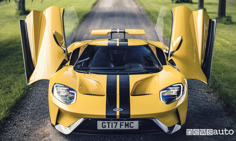 Photo of Foto Ford GT stradale