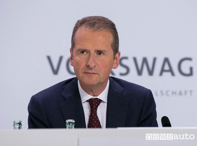 Herbert Diess, Presidente del Consiglio d'Amministrazione del Gruppo Volkswagen e della marca Volkswagen
