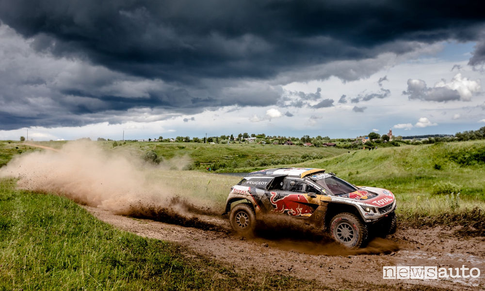 Photo of Peugeot vittoria 1^ tappa Silk Way Rally