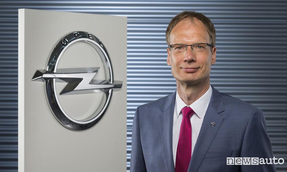 Michael Lohscheller, CEO di Opel/Vauxhall