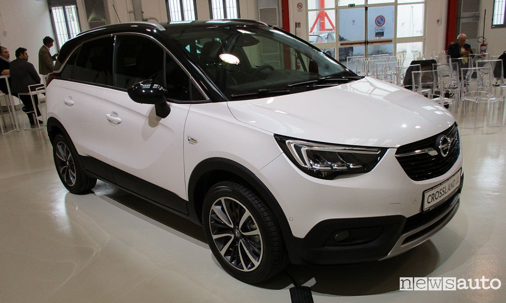Photo of Nuovo Suv Opel Crossland X