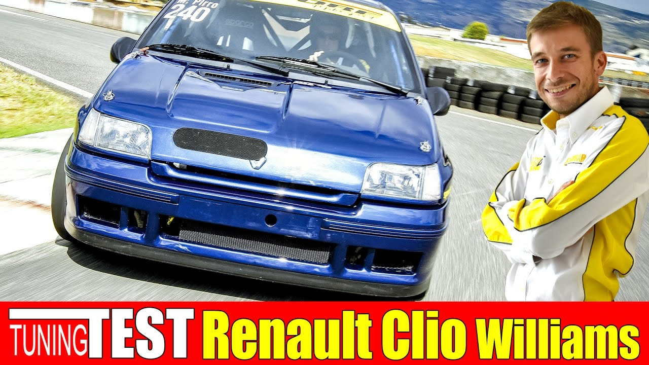 Photo of Renault Clio Williams 250 CV | Tuning Test | Time Attack