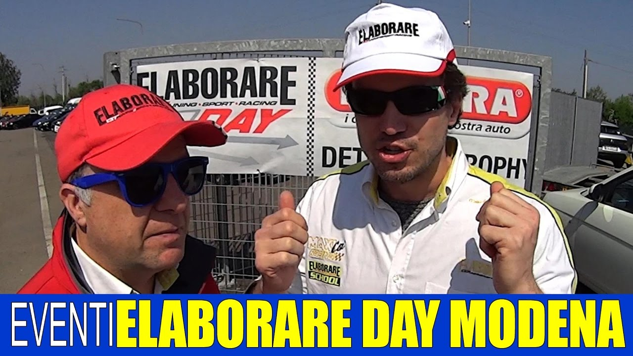 Photo of VIDEO Elaborare Day | Autodromo di Modena 2017