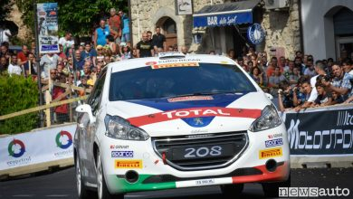 Photo of Pollara sulla Peugeot 208 T16 al Rally Due Valli