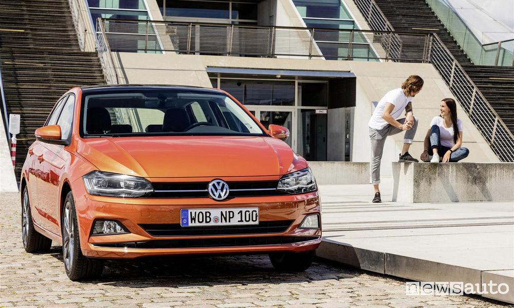Paraurti e fari a led anteriori Volkswagen Polo