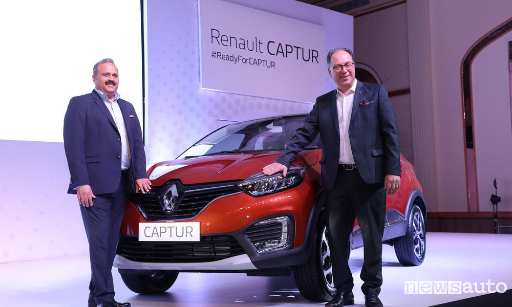 Photo of Renault lancia Captur in India