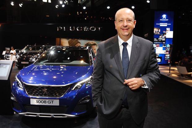 Jean-Philippe Imparato, direttore del marchio Peugeot