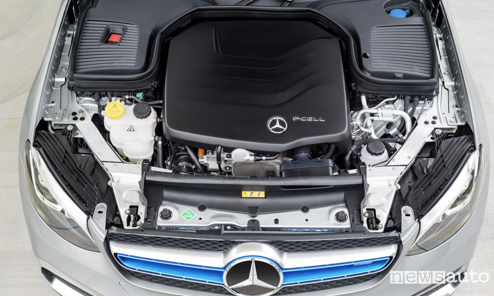 Propulsore nuovo Mercedes-Benz GLC F-CELL plug-in hybrid