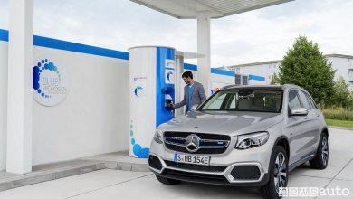 Photo of Mercedes GLC F-CELL, SUV ad idrogeno celle combustibile