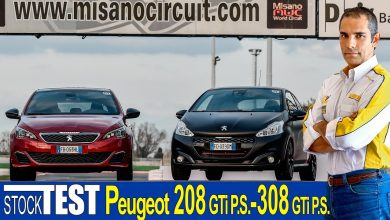 Photo of Video Peugeot 208 GTi by P.S. | 308 GTi by P.S. | Test Pista Misano Adriatico