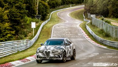 Photo of Video giro record Alfa Romeo Stelvio Quadrifoglio Nürburgring