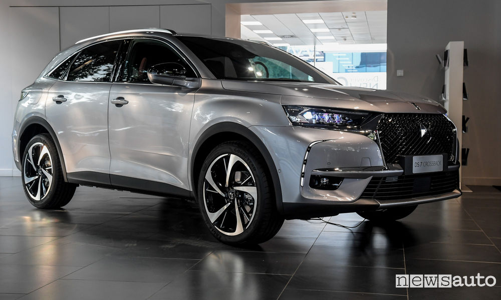 DS 7 Crossback test drive