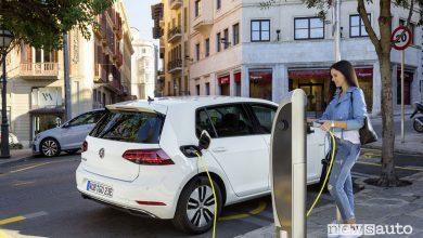 Auto elettriche 2018 Volkswagen e-Golf