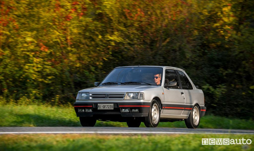 Peugeot ad Auto e Moto d'Epoca 309 GTI