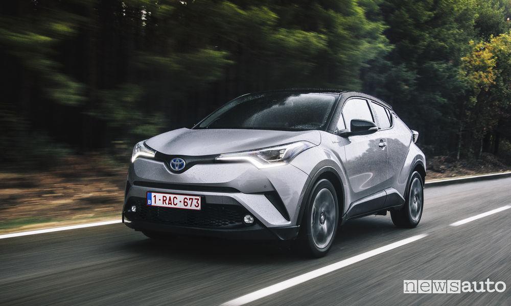vendite auto ibride agosto 2019 toyota c-hr