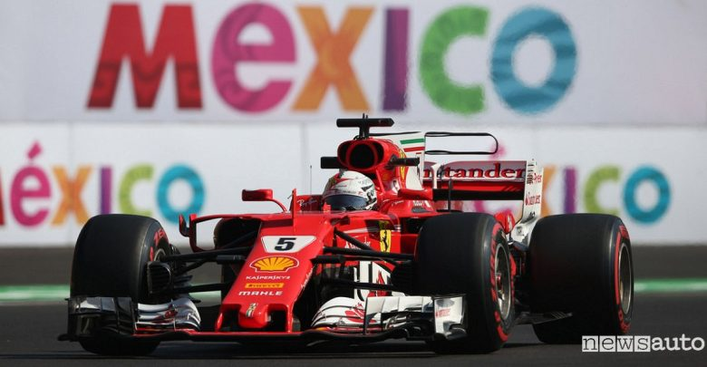 Qualifiche F1 Gp Messico Ferrari Vettel
