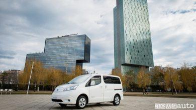 Photo of Nissan e-NV200 Van con 280 km di autonomia
