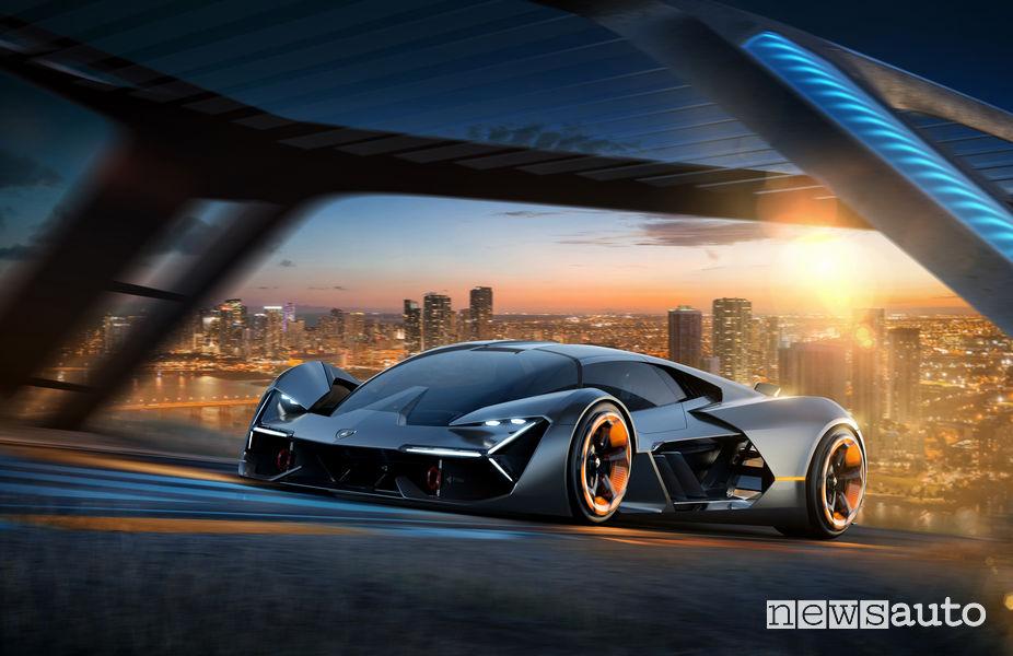 La Lamborghini del futuro Terzo Millennio