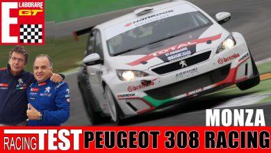 Video Peugeot 308 Racing CUP Monza